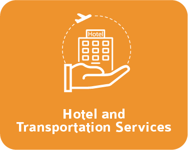 hotel and transportation services yellow