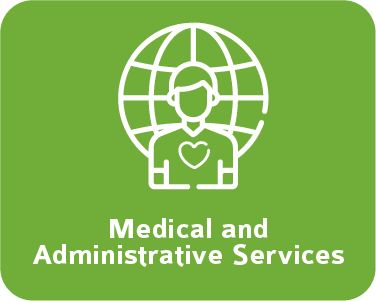 medical and administrative services green
